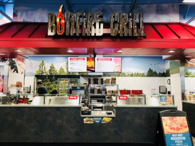 Interior Bonfire Grill